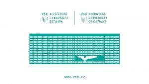 Biologically inspired algorithms Exercise 11 Ing Lenka Skanderov