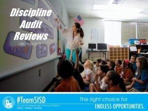 Discipline Audit Reviews CBC 1282020 Discipline Audit Reviews