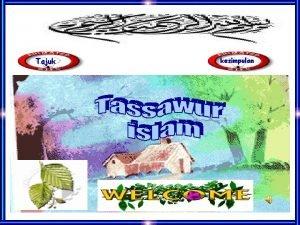 Tajuk kesimpulan Matlamat Perundangan Islam 1 Memelihara agama