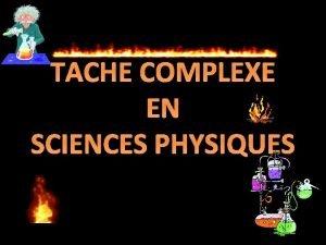 TACHE COMPLEXE EN SCIENCES PHYSIQUES Hugo veut manger