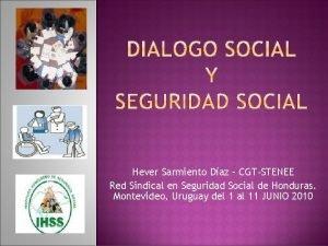 Hever Sarmiento Daz CGTSTENEE Red Sindical en Seguridad