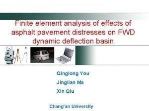 Finite element analysis of effects of asphalt pavement