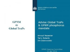 GPNM Global Tra Ps Advise Global Tra Ps