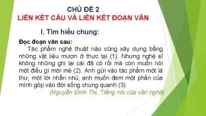 CH 2 LIN KT C U V LIN