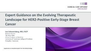 Expert Guidance on the Evolving Therapeutic Landscape for
