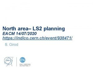North area LS 2 planning EACM 14072020 https