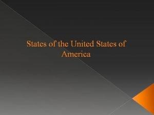 States of the United States of America Kansas
