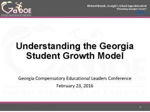 Richard Woods Georgias School Superintendent Educating Georgias Future
