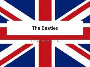 The Beatles Dvid Marcin 3 A Members John