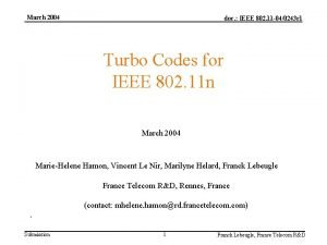 March 2004 doc IEEE 802 11 040243 r