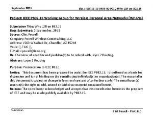 September 2013 doc IEEE 15 13 0495 00