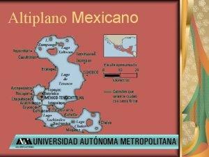 Altiplano Mexicano Tula Orgenes Durante el gobierno de