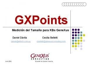 GXPoints Medicin del Tamao para KBs Gene Xus