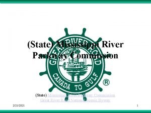 State Mississippi River Parkway Commission Great River Road