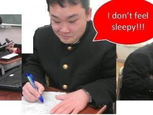Extraction of I dont feel caffeine sleepy Ito
