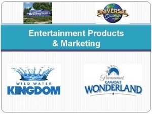 Entertainment Products Marketing Entertaining Products Mediabased Entertainment Goods
