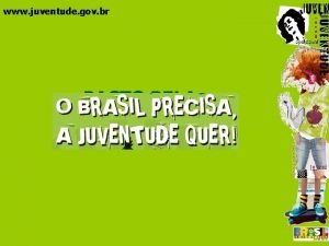 www juventude gov br PACTO PELA JUVENTUDE www