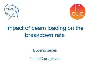Impact of beam loading on the breakdown rate