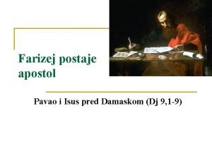Farizej postaje apostol Pavao i Isus pred Damaskom