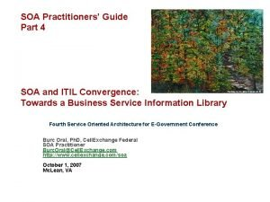 SOA Practitioners Guide Part 4 SOA and ITIL