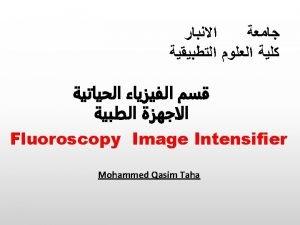 RealTime Imaging v Fluoroscopy is an imaging procedure