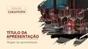 TTULO DA APRESENTAO Slogan da apresentao CAPA DA