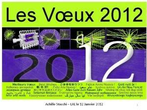 Les Vux 2012 Achille Stocchi LAL le 12