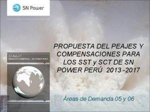 22 feb21 GERENCIA COMERCIAL SN POWER PER PROPUESTA