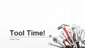 Tool Time Power Tools Cutting Tools Cutting Tools