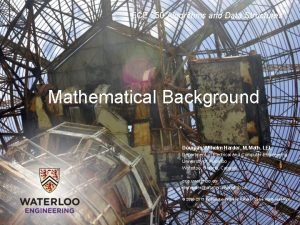 ECE 250 Algorithms and Data Structures Mathematical Background