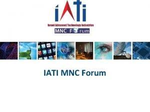 IATI MNC Forum IATI MNC Forum members About