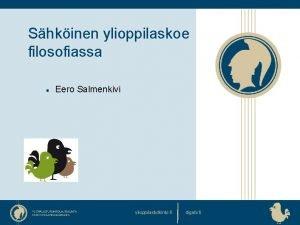 Shkinen ylioppilaskoe filosofiassa Eero Salmenkivi ylioppilastutkinto fi digabi
