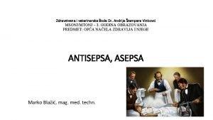 Zdravstvena i veterinarska kola Dr Andrije tampara Vinkovci