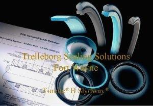 SEALING SOLUTIONS Trelleborg Sealing Solutions Fort Wayne Turcite