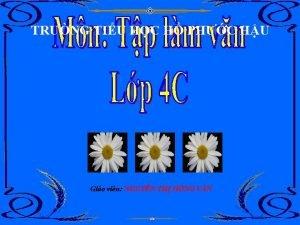TRNG TIU HC H PHC HU Gio vin