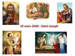 19 mars 2020 Saint Joseph Prire Saint Joseph