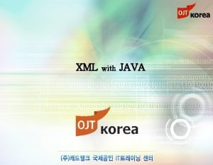 XML with JAVA chapter 09 XPath XPath Root