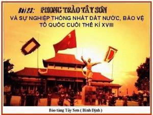I Phong tro Ty Sn v s nghip