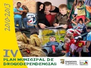 PLAN NACIONAL SOBRE DROGAS w El Plan Nacional