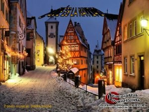 Fondo musical Santa noche Navidad es Jess Navidad