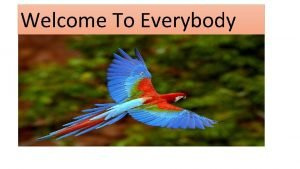 Welcome To Everybody Introduction Md muslim Assistant TeacherEnglish