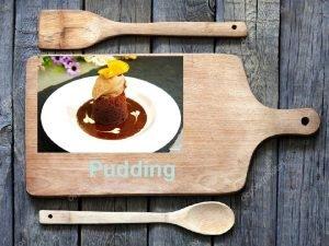Pudding INGREDIENTS 150 g dark chocolate 100 g