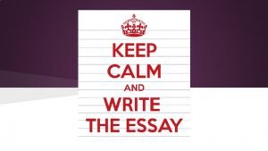 The Essay What is an Expository Essay An
