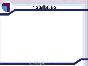 installaties installaties verwarmingssystemen installaties plaats installaties tov functie