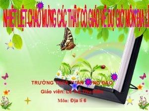 TRNG THCS TRN HNG O Gio vin L