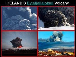 ICELANDS Eyjafjallajokull Volcano Eyjafjallajokul April 17 2010 Photo