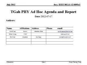 July 2012 doc IEEE 802 11 120895 r