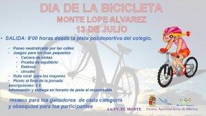 DIA DE LA BICICLETA MONTE LOPE ALVAREZ 13