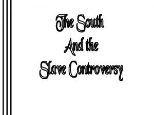 Early Emancipation in the North Missouri Compromise 1820