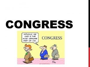 CONGRESS ARTICLE I SECTION 8 Expressed formal powers